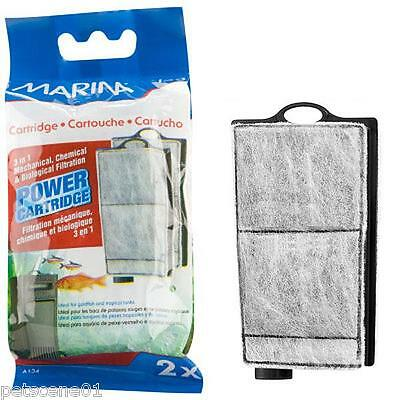 Marina i25 Cartridge pk of 2 3in1 mechanical, chemical and biological filtration