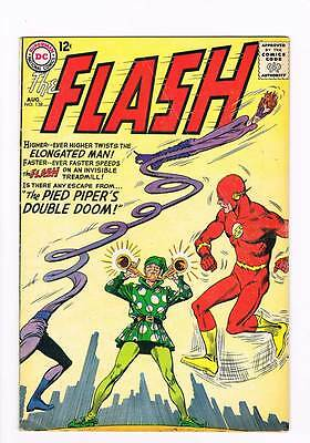 Flash # 138 The Pied Piper's Double Doom! Infantino cover! grade 4.5 scarce !!