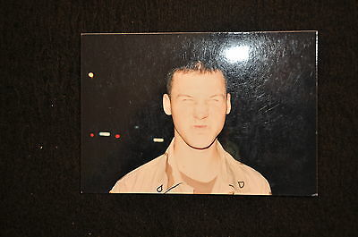 EARLY OPERATION IRAQI FREEDOM 1st ARMORED DIVISION PHOTO - HUMOROUS FACE