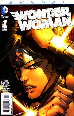 WONDER WOMAN Annual #1 New Bagged