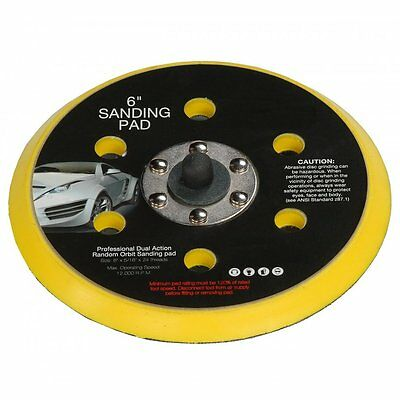 "DA Palm Sander Polisher Backing Pad 150mm 6"" Hook & Loop 5/16 Thread"
