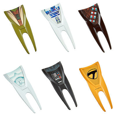 TaylorMade Star Wars Golf Pitch Repair Divot Tool + Magnetic Ball Marker