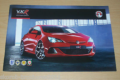 VAUXHALL - The VXR Range Sales Brochure 2015 Edition 1.