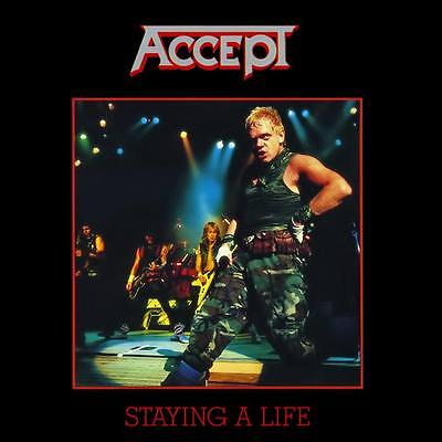 """Accept """"Staying A Life"""" 2x12"""" Vinyl - NEW"""