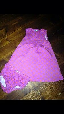 Mini Boden Girls Summer Outfit *immaculate* Age 6-12 Months