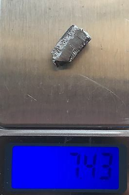 Palladium Solid Bar 99%-7,43g