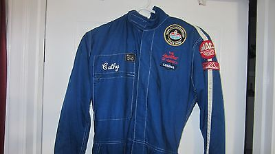 Cathy Venturini Amoco Quality leadership Firesuit ARCA Simpson Uniform Fire Suit