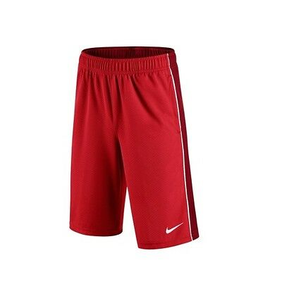 Brand New - Nike Boys Youth Aceler 8 Sports Gym Shorts - RED