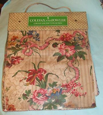 Colefax And Fowler (Cowtan And Tout Collection) Fabrics Sample Book, April 1994
