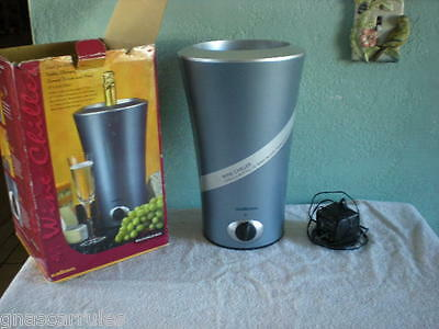 Salton Rehargeable Electric Wine Chiller