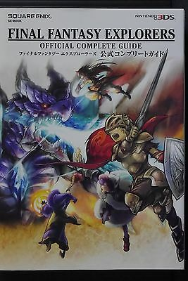 JAPAN Final Fantasy Explorers Official Complete Guide