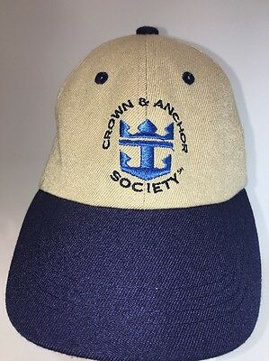 Royal Caribbean Cruise International Crown and Anchor Society Hat Adjustable
