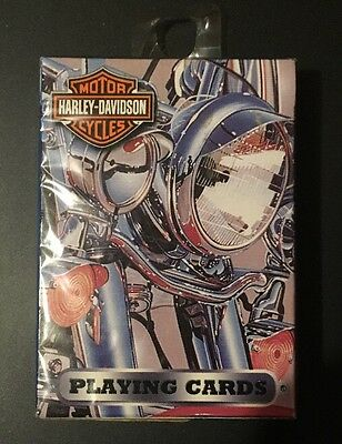 2003 Harley-Davidson Playing Cards Sealed Photos By Scott Jacobs