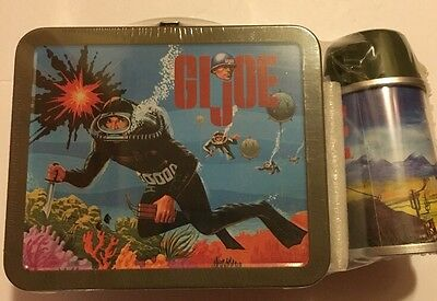 2001 Hallmark GI Joe School Days Lunch Box Numbered 9755 Of 19500
