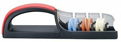 Minosharp 3 Sharpener Black/Red Knife Sharpener, New