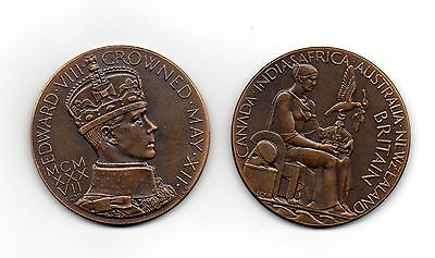 Superb Edward Viii  Cornation Medallion
