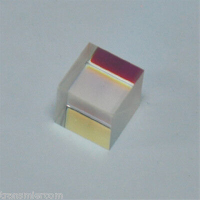 Laser Beam Combiner Cube Prims Mirror pass green for 520-532nm Green laser Diode