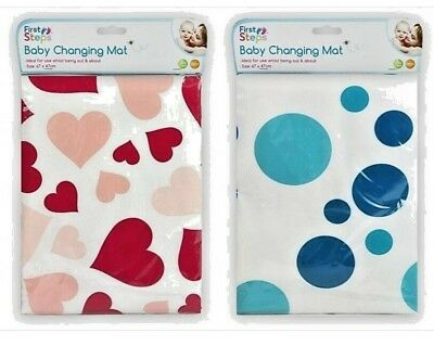 Baby Changing Travel Mat Foldable Pad Washable Soft Padded Cover Surface