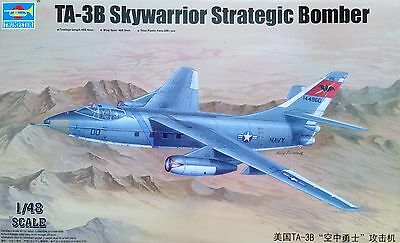 TRUMPETER® 02870 TA-3B Skywarrior Strategic Bomber in 1:48