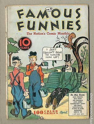 Famous Funnies (1934) #9 GD+ 2.5