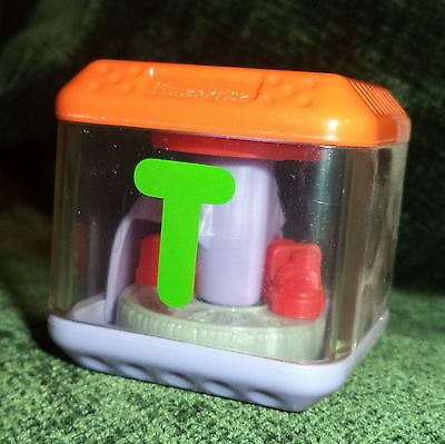 Peek  A  Block Letter T Block for Train