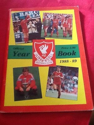 Liverpool Fc 1988/89 Official Year Book