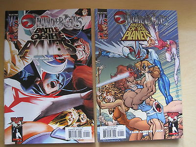 "THUNDERCATS : ""BATTLE of the PLANETS"" : COMPLETE SET of 2 VARIANTS. WS.2003"