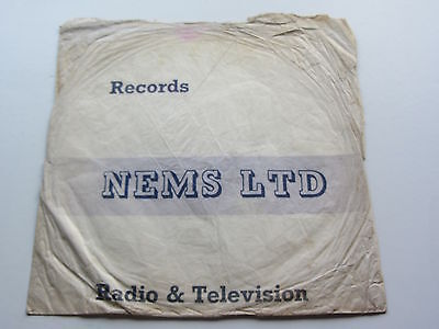BEATLES BRIAN EPSTEIN  78 RECORD BAG FROM NEMS BRIAN EPSTEINs RECORD SHOP