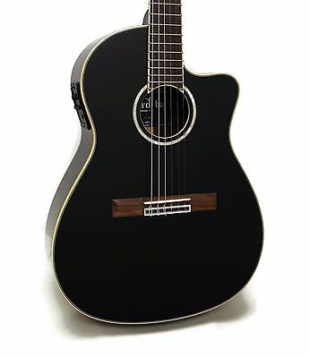 Cordoba Fusion 14 Jet Nylon String Classical Acoustic-Electric Guitar