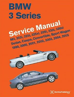 BMW 3 Series E46 NEW Bentley #B305  Printed Service Manual 99 to 05  FREE SHIP