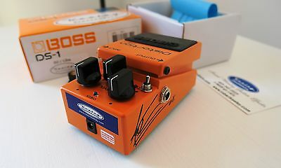 ORIGINAL Keeley BOSS DS 1 Ultra Seeing Eye Mod Vai Signed Rar Monster Ton