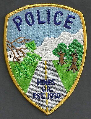 Hines Oregon Police Patch