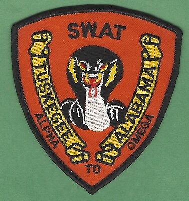 Tuskegee Alabama Police Swat Team Patch