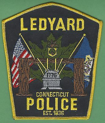 Ledyard Connecticut Police Patch