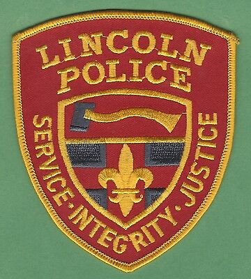 Lincoln Rhode Island Police Patch Patch