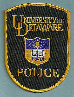 University Of Delaware Police Patch