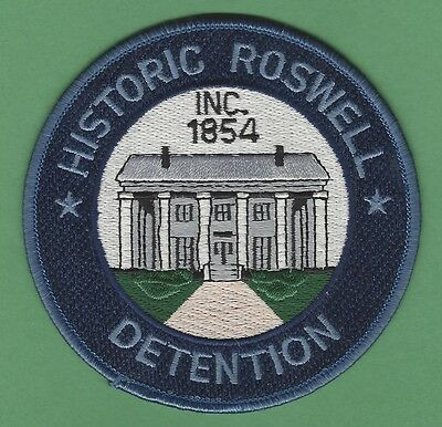 Rowell Georgia Detention Police Patch