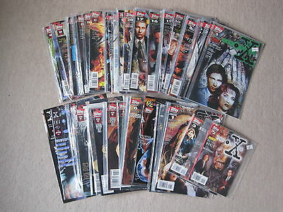 X-Files Collection Job lot of Topps Comics Mulder And Scully