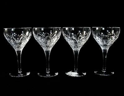 Atlantis Chartres Scarce Crystal Champagne/Tall Sherbet Glasses Set of 4 Signed