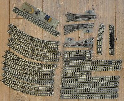 Vintage Joblot Hornby Dublo By Meccano Railway Track