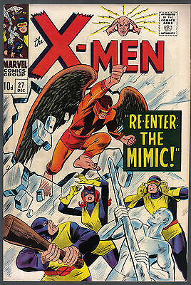The X-Men Issue Number 27 Produced By Marvel Comics