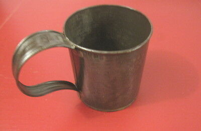 Span-Am War US Army Pat. 1874 Soliders Tin Mess Drinking Cup - Guard Unit - NICE