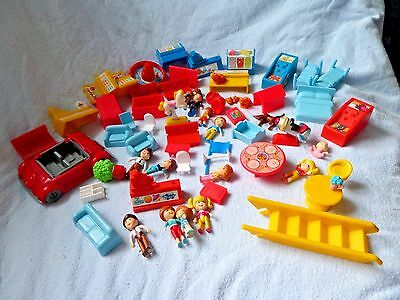"""1988 Matchbox """"Oh Jenny"""" people furniture and accessories"""