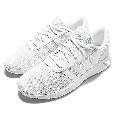 adidas Neo Label Lite Racer Triple White Mens Running Shoes Sneakers B74375