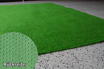 Artificial Turf Grass Carpet Green Standard 2 m Width Velour Soft