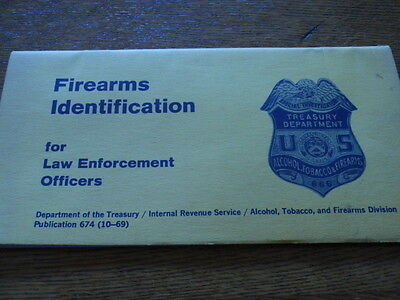 ATF IDENTIFICATION OF FIREARMS (MACHINE GUNS, Etc) IN NATIONAL FIREARMS ACT 1968