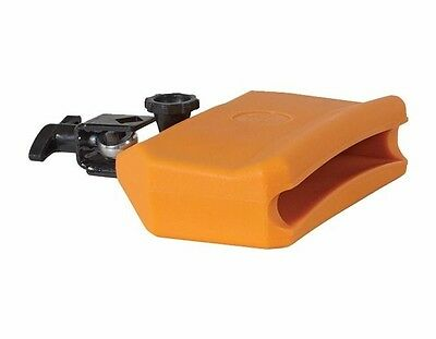 MANO PERCUSSION DB283 ABS Low Pitch 6 x 4 Inch Gig Block, Orange