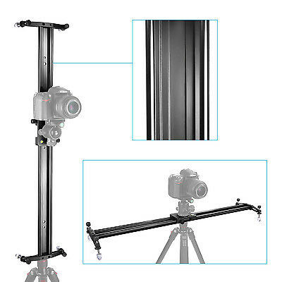 "Neewer Black 24"" Video Stabilization System DSLR Camera Track Dolly Slider"