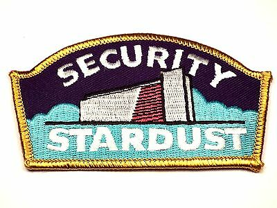Vintage STARDUST Hotel & Casino Security Officer Embroidered Patch Las Vegas NV