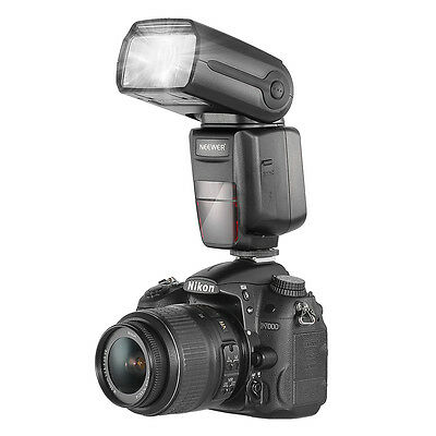 Neewer 2.4G Wireless Speedlite Flash Speedlight TT660 II for Nikon Canon Pentax